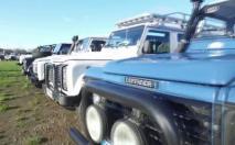Des adieux en grande pompe pour le Land Rover Defender
