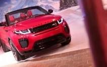 Présentation VIP pour le Range Rover Evoque Cabriolet