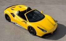 Ferrari 488 Spider : 0 à 100 km/h en 2,8 secondes grâce à Novitec