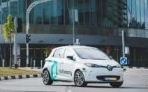 La Renault ZOE devient l'un des tout premiers taxis autonomes au monde