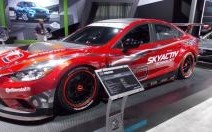 La Mazda6 SKYACTIV diesel Grand Am s'affiche à Detroit avant Daytona