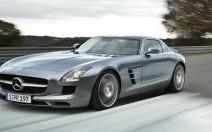 Mercedes SLS : rétro-vision