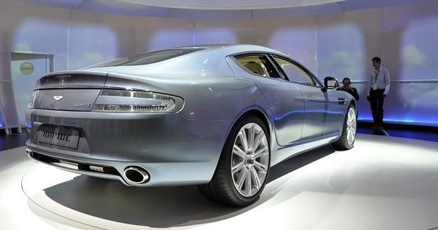 Actu Aston martin  - Aston Martin Rapide : 4 portes vers les