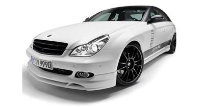 Caraudiovidéo : le show car Mercedes CLS Alpine 2010 à la loupe