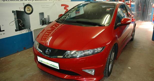 Honda Civic 1.4 i-VTEC Type S - Caraudiovidéo : améliorer