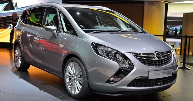 Actu Opel  - Opel Zafira Tourer : Classique et dynamique