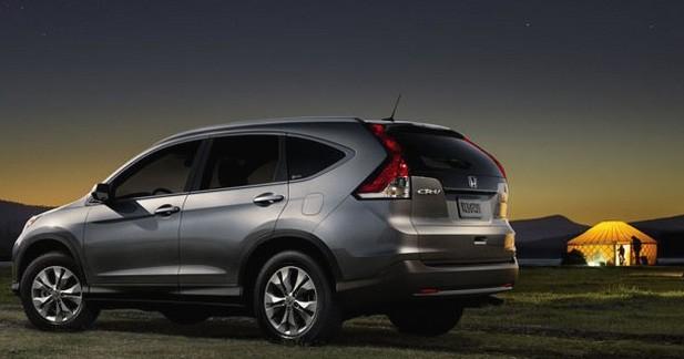 Honda dévoile de nouvelles photos du CR-V 2012