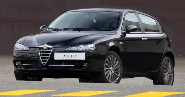 Actu Alfa romeo 147 - Dernière ligne droite pour l'Alfa 147