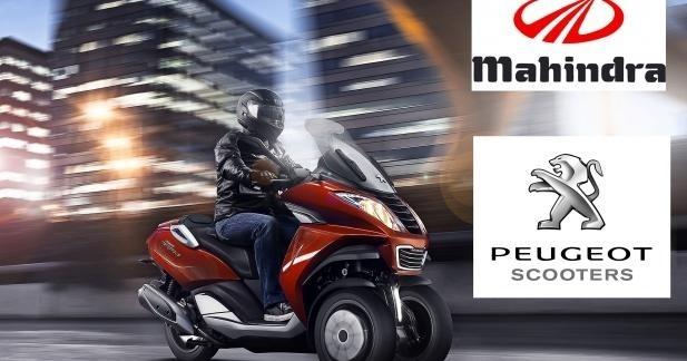 Officiel : Alliance avec Mahindra pour Peugeot Scooters !