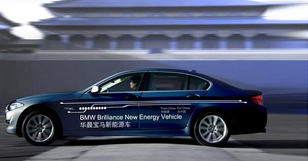 Actu Bmw SERIE 5 F10 - Une Série 5 hybride plug in pour la Chine