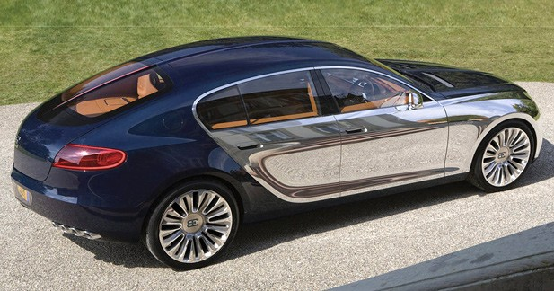 Bugatti 16C Galibier Concept : Col hors catégorie