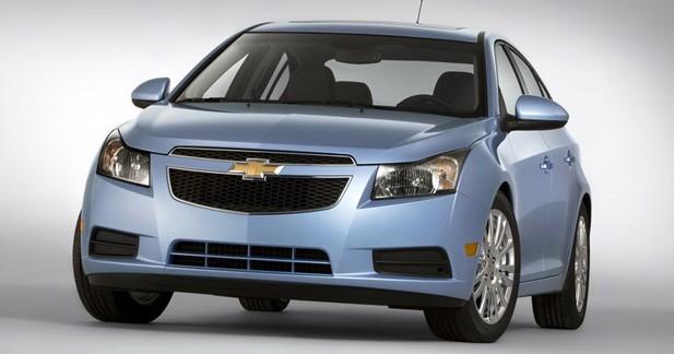 Actu Chevrolet CRUZE - Chevrolet Cruze : une version Eco � New