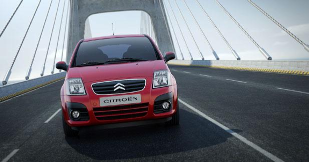 Citroen C2 - Citroën C2 restylée : pour patienter