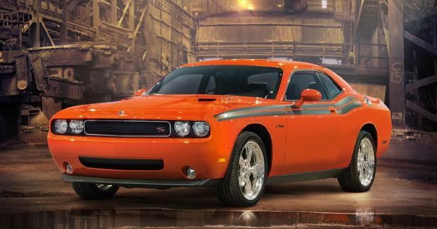 Actu Dodge  - Dodge Challenger R/T Classic : vision r�tro