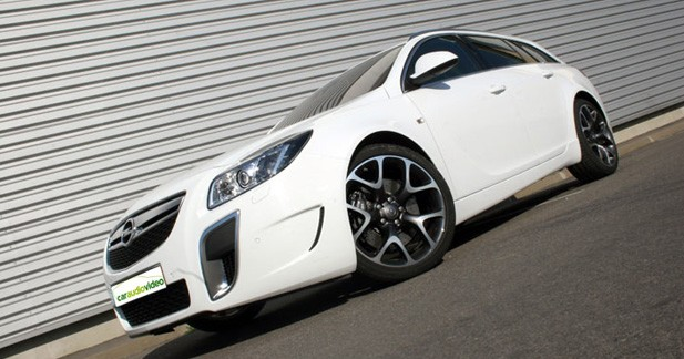 Caraudiovid�o : l'Opel Insignia OPC break � la loupe