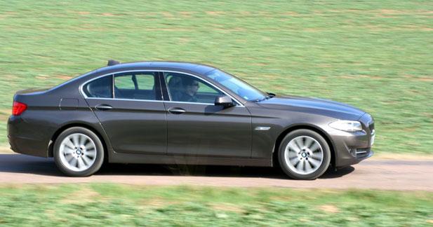 Essai Bmw 530d 245ch Exclusive A - Essai BMW 530d : routi�re en