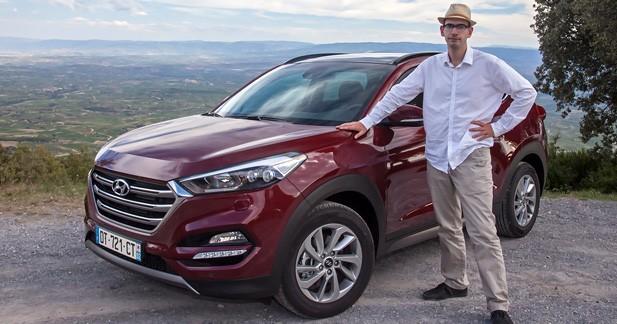 Essai Hyundai  - Essai Hyundai Tucson 1.6 CDTi 115 ch 2WD :