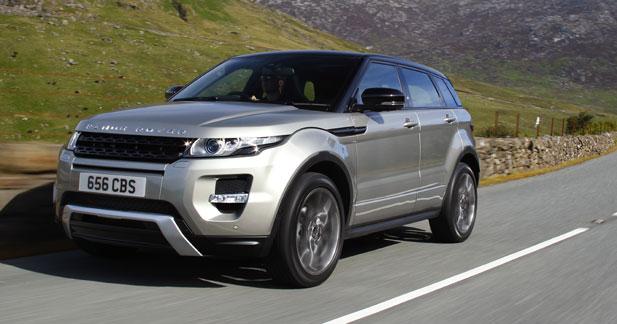 Essai Land rover Range Rover Evoque SD4 Prestige A - Essai Land