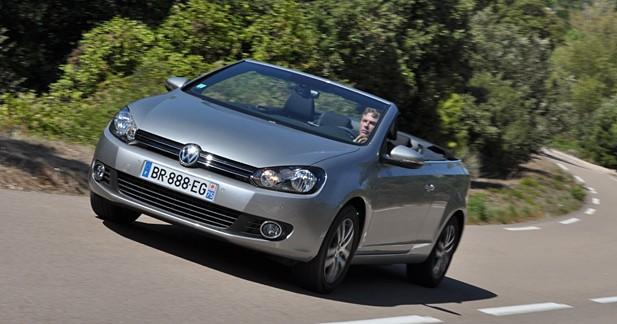 Essai Volkswagen  - Essai Volkswagen Golf VI Cabriolet : Coup de