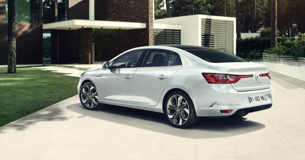 Renault Megane Sedan — Nouveauté