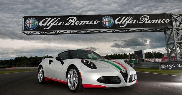 Alfa romeo 4C - L'Alfa Romeo 4C a bouclé le tour du