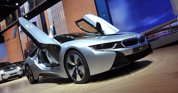 Bmw  - La BMW i8 enfin pr�te � prendre la route