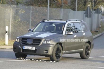 La Mercedes Classe GLK presque pr�te !