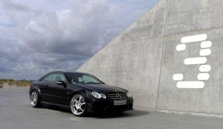 La Mercedes CLK 63AMG Black Series par Kleeman