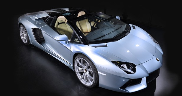 Lamborghini Lamborghini Aventador LP700-4 Roadster : Surprise du