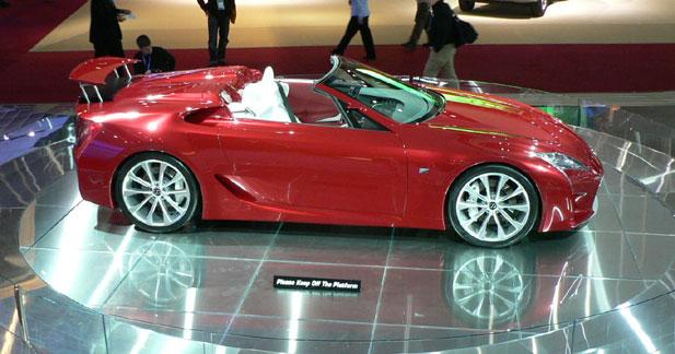 Lexus  - Lexus LF-A Roadster : concept décoiffant