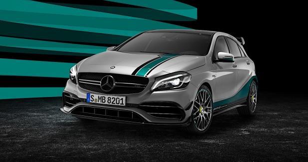 Actu Mercedes CLASSE A - Mercedes c�l�bre ses titres en F1 avec