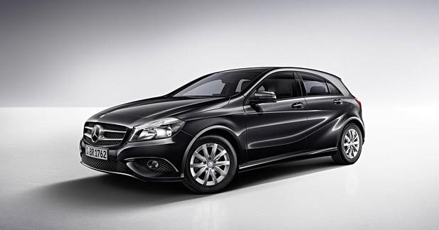 Actu Mercedes CLASSE A - Mercedes Classe A BlueEFFICIENCY Edition