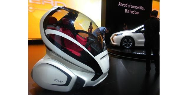 Opel EN-V : une navette électrique d'auto partage