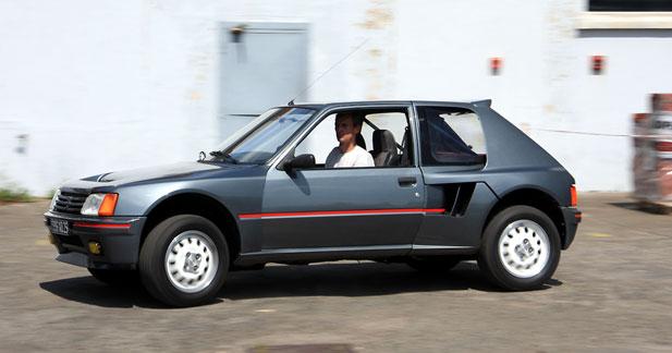 Essai Peugeot 205 T16 ''client'' : attention, voiture d'homme