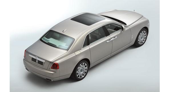 La Rolls Ghost en version longue : une surprise de taille
