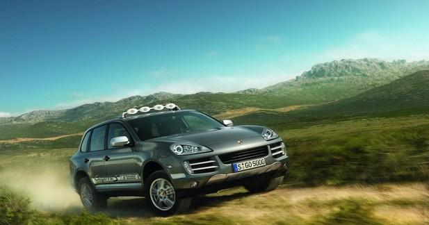 Actu Porsche  - Porsche Cayenne S Transsyberia : d'Oulan Bator