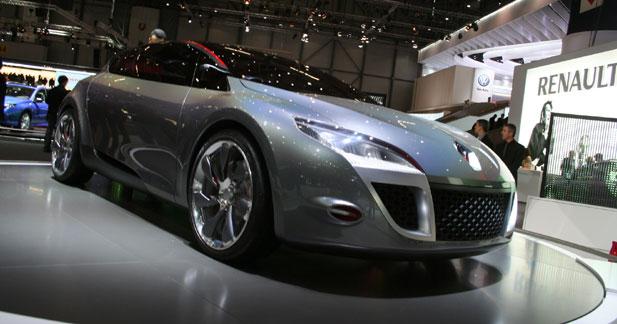 Actu Renault  - Renault Mégane Coupé Concept : heureux présage