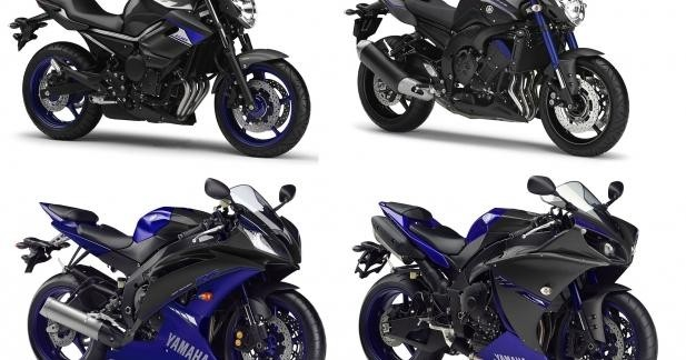 S�ries sp�ciales Yamaha Race Blu 2014