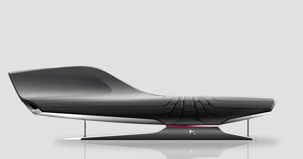Citroën : un sofa DS au salon du meuble de Milan