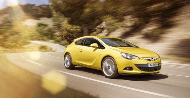 Tous les détails sur l'Opel Astra GTC
