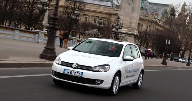 Actu Volkswagen GOLF - La Golf électrique prend la route en