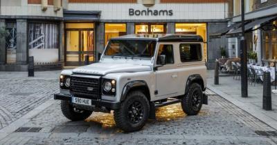 Land Rover Defender: un exemplaire unique vendu 550 000 euros