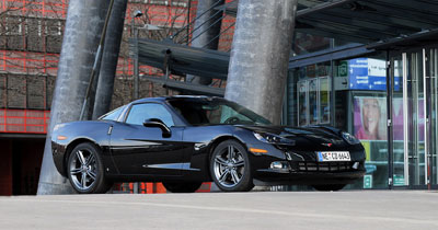 Corvette Competition : sportive accessible
