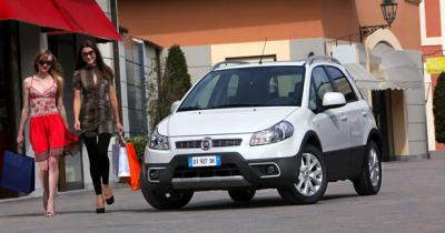 Fiat Sedici restylé : Nouveau nez