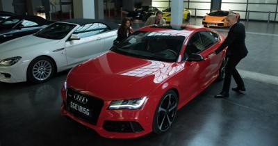 L'Audi RS7, star du film Hitman : Agent 47