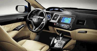 Honda offre un GPS intégré à sa Civic Hybrid