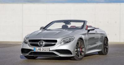 La Mercedes-AMG S 63 Cabriolet s'embourgeoise avec une «Edition 130»