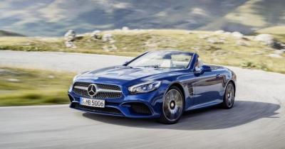 Mercedes SL restylée: tous les tarifs