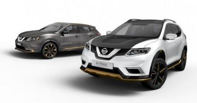 Nissan dévoile les concepts Qashqai Premium et X-Trail Premium