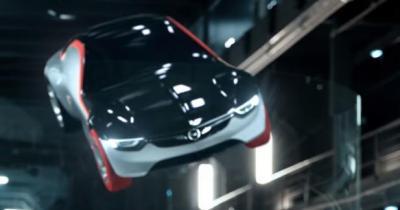 L'Opel GT Concept fait son cinéma